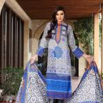 Nisha Fabrics trendy Saavan Collection 2015 by Nishat Linen (2)