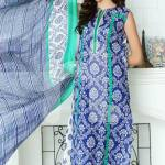 Nisha Fabrics trendy Saavan Collection 2015 by Nishat Linen (8)