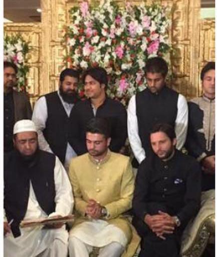 Shahid Afridi on Ahmed Shahzad And Sana Wedding