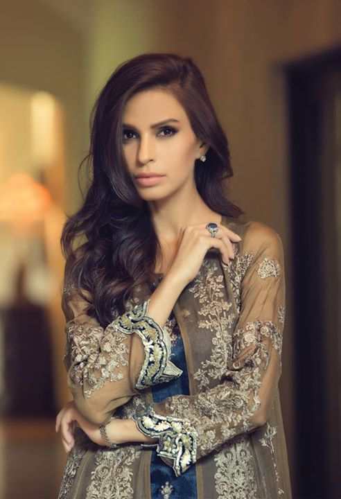 Maria B Mbroidered Unstitched Eid collection 2016