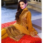 Latest Khaadi Lawn Eid Wear 2015 For Girls