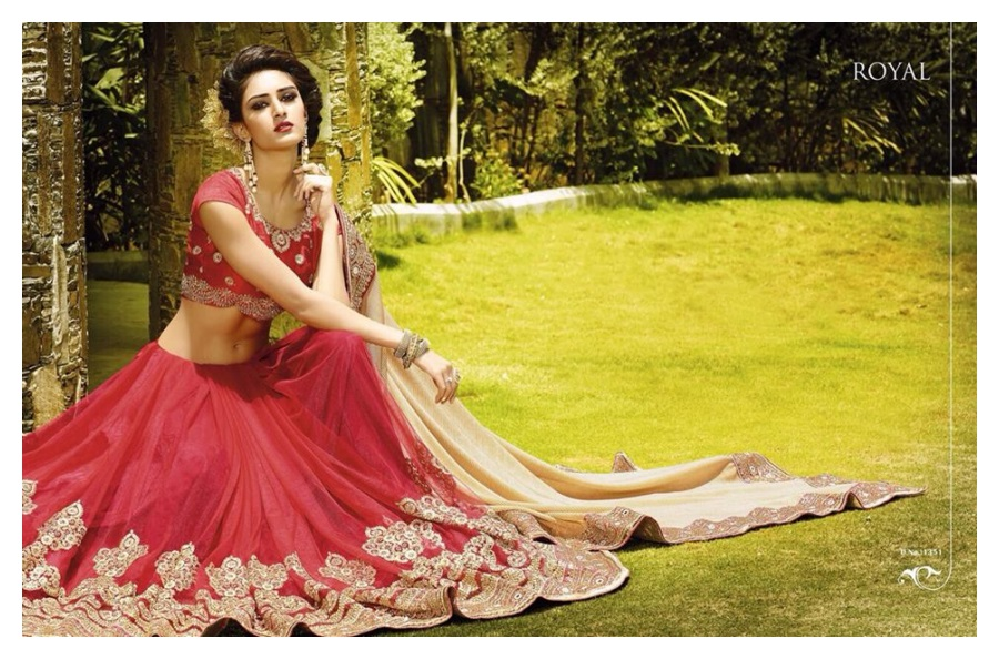 Royal Sarees Winter  Fall Indian Hot Saree Designs 2015-16 for Ladies