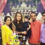 Sadia Imam daughter's birthday with Family Pictures