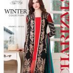 Charizma Vol 2 Fall Winter Embroidered Dresses 2015-2016 (1)