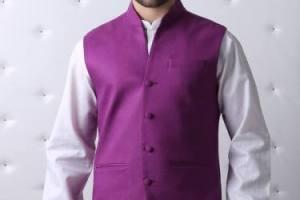 Waistcoat with Shalwar Kameez for men by Eden Robe (2)