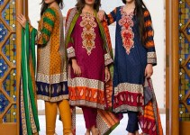 Ittehad Linen Collection 2015-16 For Fall-Winter Season (1)