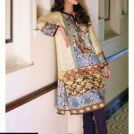 Noor by Saadia Asad Digital Winter Kurti Fashion for Girls (2)