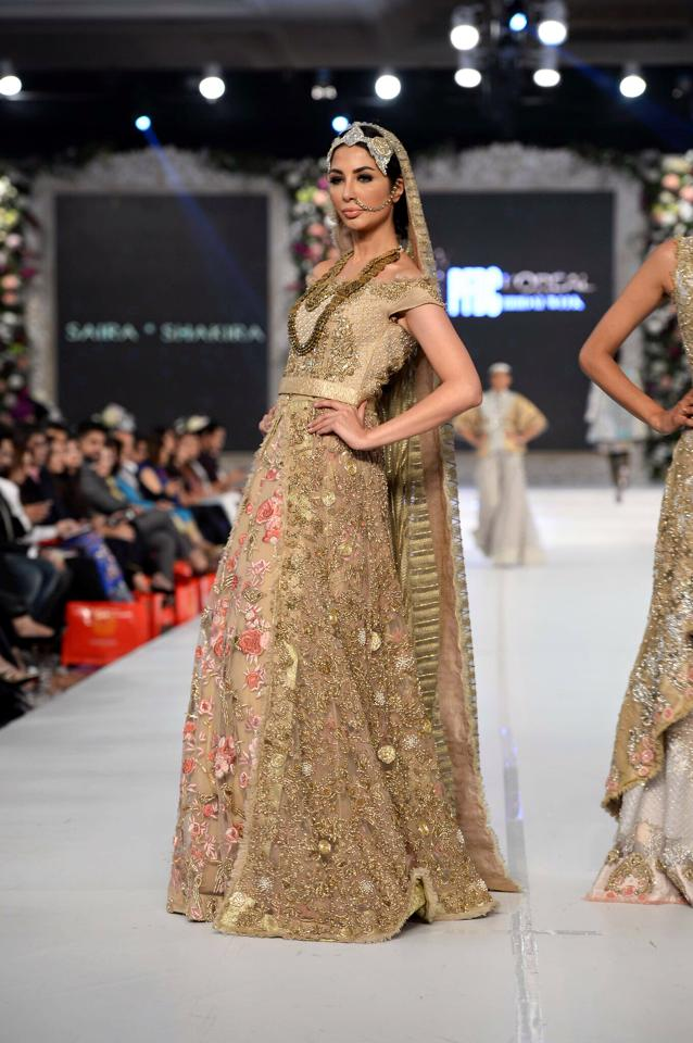 SEEKING PARADISE BY SAIRA SHAKIRA Bridal Couture 2015-16 (3)