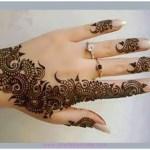 New year Finger Mehndi Designs