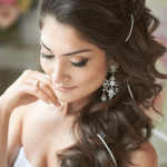 White & Pixie Wedding Bridal Hairstyle