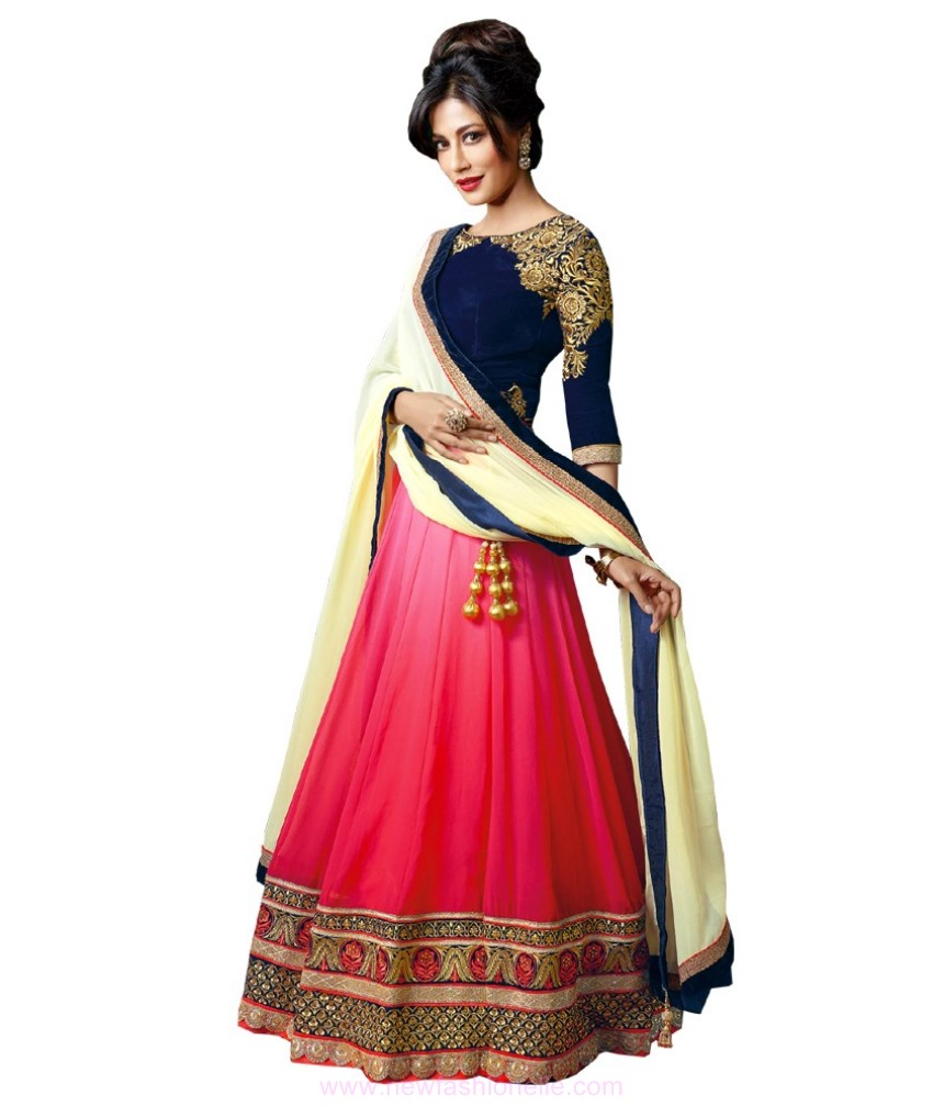 Latest Indian Lehnga Choli Fashion 2017 for Engagement & Wedding