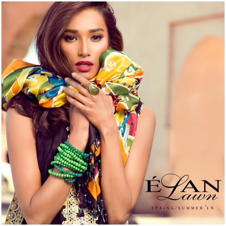 Élan Lawn 2016 Collection For Summer