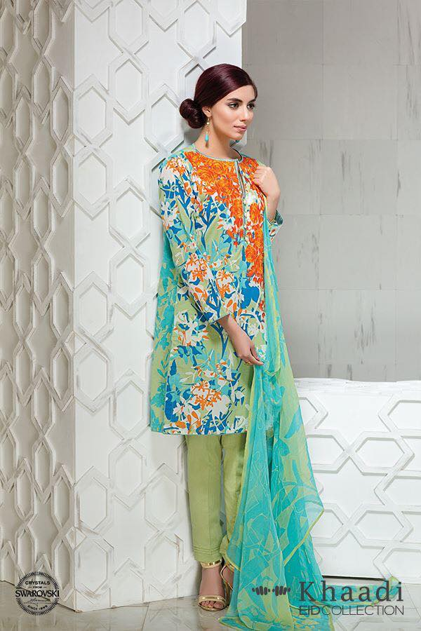 Khaadi Eid Collection 2016 With Latest Design