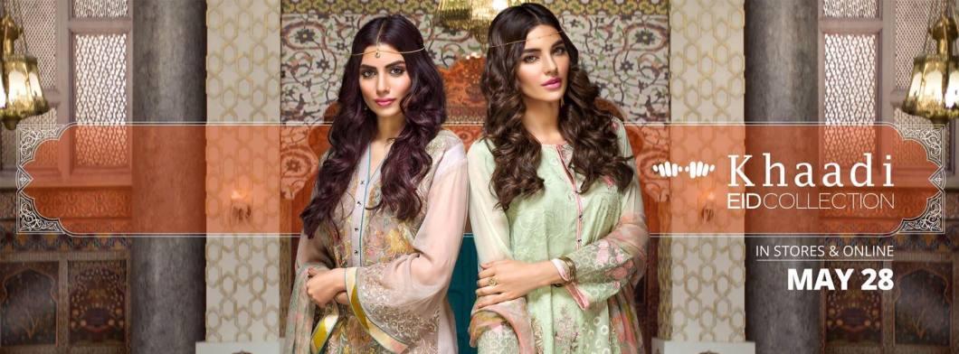 Stylish Khaadi Eid ul fitr Lawn Collection 2016