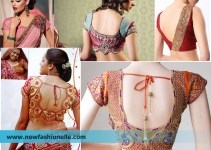 latest saree blouse design images photoss