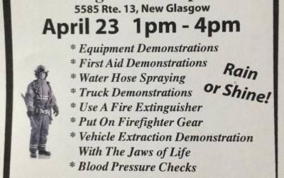 New Glasgow Fire Dept. Open House