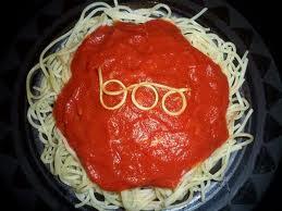 Spooktacular Spaghetti Dinner
