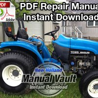 New Holland 1530, 1630, 1725, 1925, TC25, TC29, TC33 Repair Manual