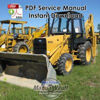 Ford 455C, 555C, 655C Tractor Loader Backhoe Service Manual