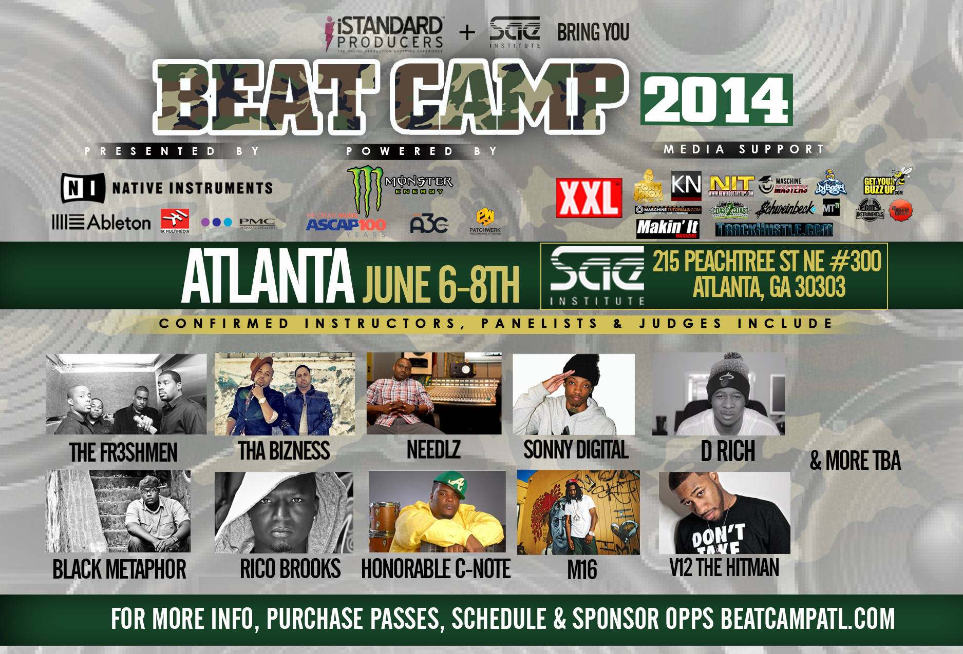 Event: iStandard Presents Beat Camp ATL 6/6 – 6/8