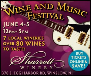 new jersey wine events - sharrott winery music and wine fest