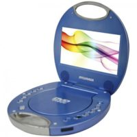 "The Sylvania® SDVD7046 7"" Portable DVD Player with Integrated Handle"