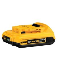 The DEWALT DCB203 20-Volt MAX 2.0Ah Li-Ion Battery Pack