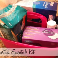 Postpartum essentials kit
