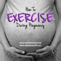 How to exercise safely during pregnancy