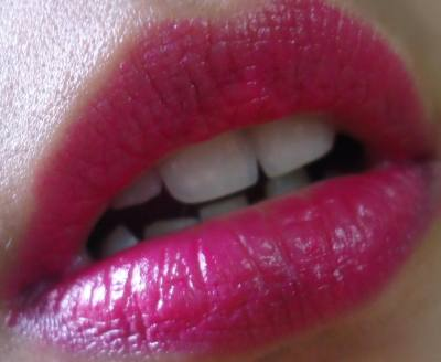 Maybelline 14Hr Superstay Lipstick 160 Infinitely Fuchsia Review, Swatches