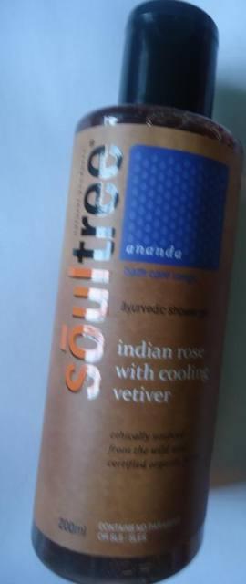 Soul Tree Indian Rose & Cooling Vetiver Ayurvedic Shower Gel Review