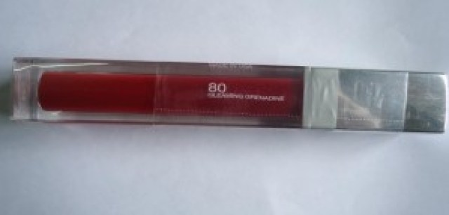 Maybelline Colorsensational High Shine Lip Gloss 80 Gleaming Grenadine Review, Swatches
