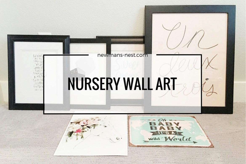 nursery, inspiration, nursery artwork, wall art