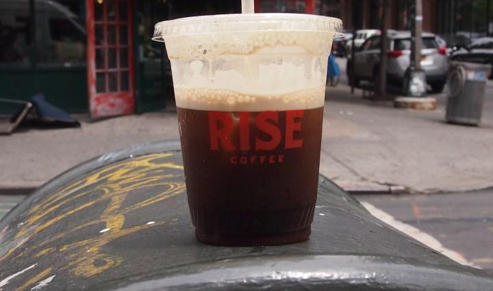 ニトロコールドブリューコーヒー
