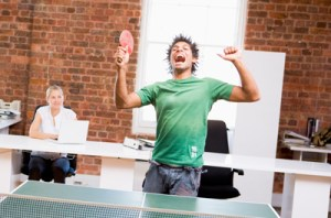 How to keep the score on table tennis