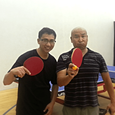Kuei Chen and Fred Li - Table Tennis Newport Beach