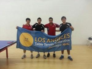 Newport Beach Table Tennis Team first division