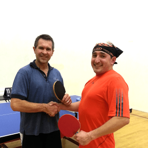 Equal Challenge Table Tennis Tournament Finalists