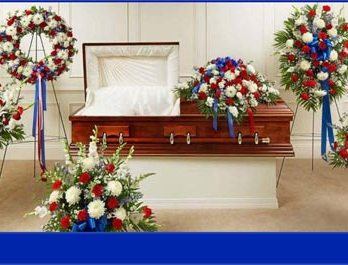 Funeral Package Patriotic