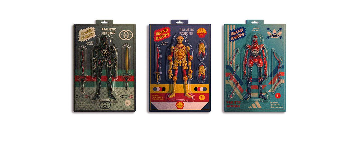 Brand Knights: as ilustrações marcantes