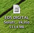 EOS DIGITAL Solution Diskディスクイメージ