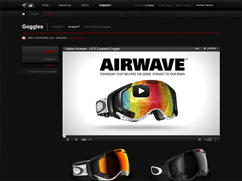Oakley Airwave Goggles - Official Oakley Store