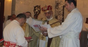 Metropolitan of Iraq Ordains Deacon in Baghdad