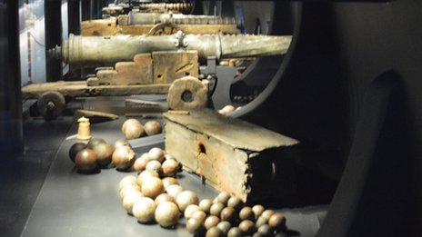Mary Rose cannons