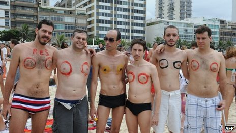 go topless day 2014