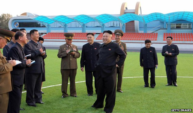 Kim Jong-un visits a children's camp