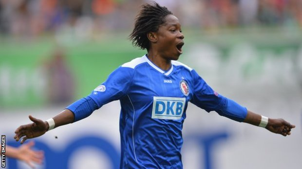 79783544 anonma African footballer Genoveva Anonma: I had to strip naked to prove I was a woman [BBC]