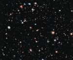 This image, called the Hubble eXtreme Deep Field (XDF), combines Hubble observations taken over the past decade of a small patch of sky in the constellation of Fornax. With a total of over two million seconds of exposure time, it is the deepest image of the Universe ever made, combining data from previous images including the Hubble Ultra Deep Field (taken in 2002 and 2003) and Hubble Ultra Deep Field Infrared (2009). Credit: NASA, ESA, G. Illingworth, D. Magee, and P. Oesch (University of California, Santa Cruz), R. Bouwens (Leiden University), and the HUDF09 Team