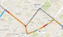 Turn-turn map