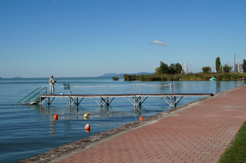 Pier am Balaton